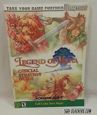 LEGEND OF MANA Official Guide BRADY GAMES PlayStation 1 PS1 RPG PSX w/ Maps