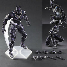 "10"" Marvel Black Panther Figure Variant Play Arts Kai Collection Toy"