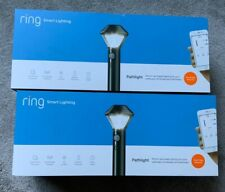 Ring Smart Lighting Weather-Resistant Motion-Activated Pathlight, Works w/ Alexa