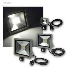 LED Floodlights Slimline, Spotlight with Motion Sensor, Floodlight 10/30/50W