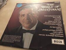 MANTOVANI - THE WORLD OF MANTOVANI VINYL LP AUSTRALIA