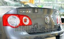 VW Passat 3C B6 Saloon 05-10 Rear Boot Spoiler Lip Wing Sport Trim Lid R Line