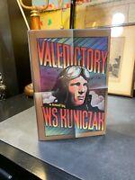 VALEDICTORY By W. S Kuniczak 1973 1st Edition HC/DJ VG++