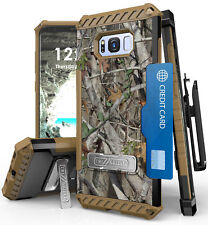 AUTUMN CAMO TREE REAL WOODS CASE + BELT CLIP FOR SAMSUNG GALAXY S8 PLUS, S8+