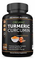 Advanced Organic Turmeric Curcumin High Strength 1000mg- Super Fast Delivery