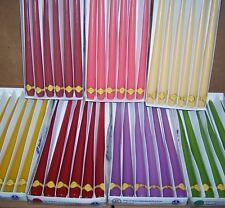 "13"" Hofer Austrian Tapers - Wholesale Lot of 12 - Chose your favorite colors"