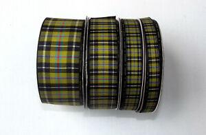 Tartan Ribbon Cornish Tartan Choose from 3 widths and 4 lengths