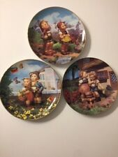 Hummel Collector Plates - Little Companions Lot of (3) - Danbury Mint