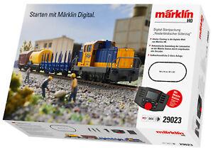 """Märklin 29023 Digital-Startpackung """"Niederländischer Güterzug"""" mit MS 60657 #NEU"""