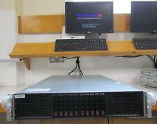 Supermicro Server 2x E5-2620 w/ 4x NVIDIA TESLA  M2090 GPU HPC Rendering CAD 3D