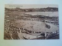 Vintage Postcard Bathing Pool (South Bay Pool) Scarborough  UNPOSTED  #59