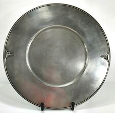 Royal Selangor Pewter Tulip Plate Charger V&A Museum Collection 2002, 13 3/4""