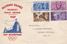 More details for 29/7/1948 gb uk fdc - olympic games - wembley stadium - wembley slogan postmark