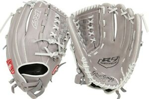 "Rawlings R9 12.5"" Fastpitch Softball Glove R9SB125-18G"