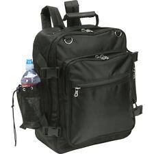 Black Motorcycle Trunk Sissy Bar Bag Backpack Rear Hook Water Bottle Holder