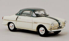 wonderful modelcar FIAT 600 VIOTTO  COUPE 1956  - cream and green  - scale 1/43