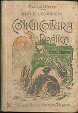 Coniglicoltura pratica Licciardelli Giuseppe Hoepli 1916 Sesta edizione