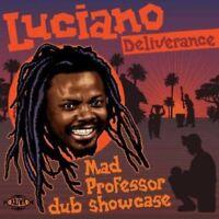 LUCIANO - DELIVERANCE - MAD PROFESSOR DUB SHOWCASE  CD NEW!