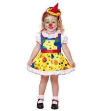 Niñas Niños Niños Disfraces de payaso chica Halloween Vestido de fantasía Traje de Disfraz 2-3 años