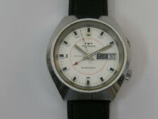 Vintage Technos Alarm Watch Day/Date Automatic