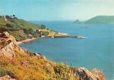 Herm Village Island's little Harbour Panorama