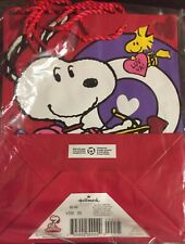 Snoopy VALENTINES Bags (lot of 4)