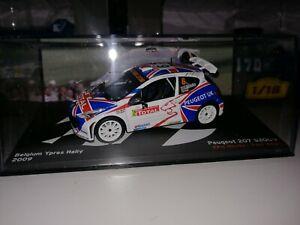 Coche Peugeot 207 S2000 Rally Altaya 1:43