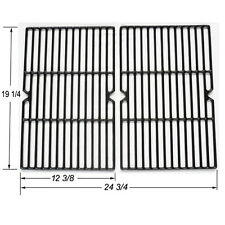 Weber Gas Grill Grate Porcelain Coated Cast Iron Cooking Grid Set JGX152