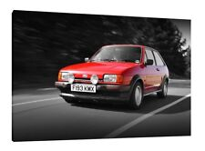 Ford Fiesta XR2 - 30x20 Inch Canvas Art - Framed Picture Print