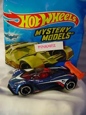 2017 Mystery Models #11 MAZDA FURAI∞blue/black/red;oh5∞Sticker∞Hot Wheels