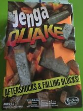 Jenga Quake Game Afterschocks Falling Tower Blocks Vibrating Base Family Hasbro