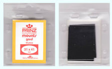 2 PIECES OF PRINZ MOUNTS 31 X  41MM - BLACK  FREE SHIPPING    #PZMT-31 X 41B