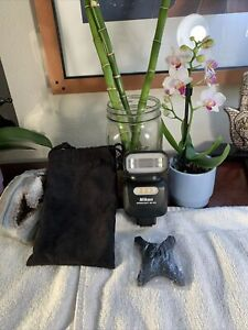 Nikon Speedlight Flash SB-500 +Bag+Accessory EXCELLENT Shape
