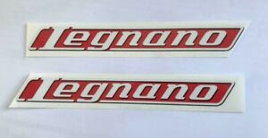 Coppia adesivi stickers bici Legnano