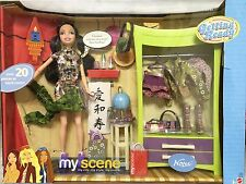 Barbie Doll My Scene Nolee Bedroom Room Getting Ready Playset Rare