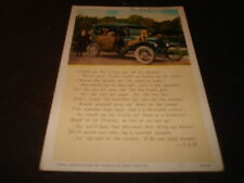 "Model T ""Tin Lizzy"" Post Card mailed 1934"