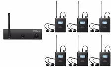 ANLEON S2 Wireless In-ear Monitor System For Recording Studio (6 receiver )
