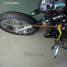 moto scooter alarme bloque disque sécurité RESSORT 1.5m rappel outil Câble main
