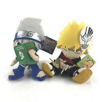 Anime Plush Toy Ishigo Banpresto Bleach & Naruto Stuffed Toy BNWT Bulk Lot