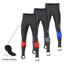 FDX Mens Cycling Tights Thermodream Padded Long Pants Windproof Bike Leggings
