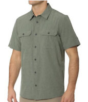 NEW ZeroXposur Men's Stretch Active Travel Series Shirt Size M hiking camping