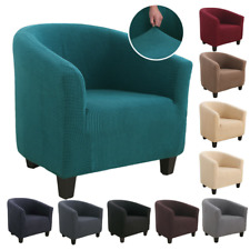 Elástico Tina de sillón protector de Cubierta de asiento muebles a prueba de polvo Slipcover 1X