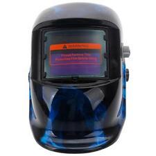 Hot Pro Solar Welding Helmet Auto Darkening Grinding Welder Mask Blue Skull US