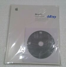 iBook G4 OS X 10.3.4 Operating System Software Restore Discs and Manual Unopened