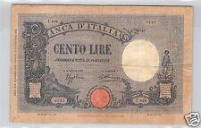 ITALIE 100 LIRES 1932 PICK 50c N° U2345142