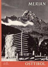 Merian Osttirol Reiseführer Heft 11 / 1962 Jahrgang 15 Welt Reise Zeitschrift