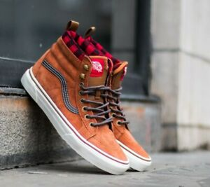 VANS SK8-HI MTE Shoes Boots Men's Size 9 Glazed Ginger