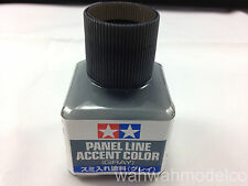 NEW TAMIYA 87133 PANEL LINE ACCENT COLOR GRAY Model & Kit Paint 40ml From Japan