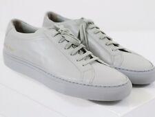 NEW COMMON PROJECTS ACHILLES ORIGINAL LOW Grey Leather 42 EU