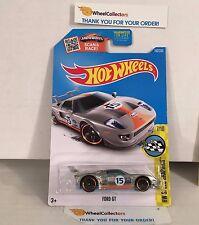 Ford GT #182 * Zamac Gulf Tampo * 2016 Hot Wheels * K16